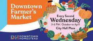Downtown Homestead Farmers Market info
